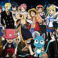 Fairy Tail et One Piece