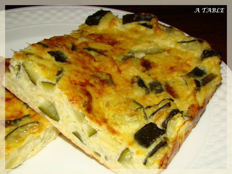 tarte aux courgettes sans pate. Black Bedroom Furniture Sets. Home Design Ideas