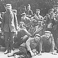 144e R.I. - Paquebot coulé - <b>balle</b> dum-dum - prisonniers allemands