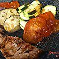 Côtes de Porc à l'Orange et au Gingembre
