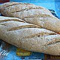pain de son de blé