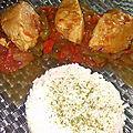 Poulet basquaise <b>halal</b>
