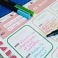 Résolutions de la rentrée n°1 : Planifier les menus
