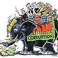 Les causes et les conséquences de la corruption