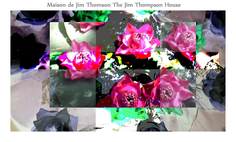 Maison de Jim Thomson The Jim Thompson House Bangkok Thailand Thailande 2