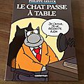 Le chat <b>passe</b> à table - Philippe Geluck (Casterman)