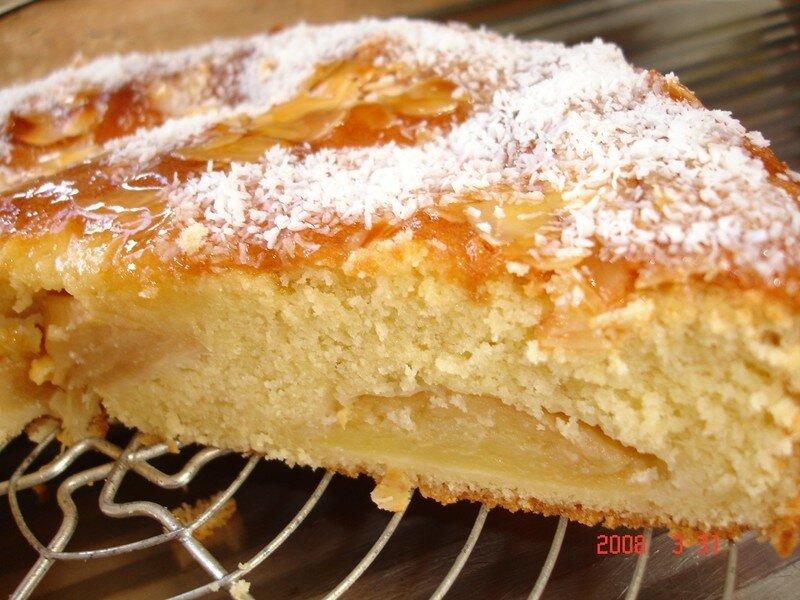 receta de queque con manzana
