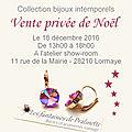 Vente privée de Noël, bijoux intemporels