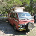 van toyota hiace campervan pop top