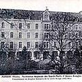 <b>Théatre</b> au Creusot - Usine d'obus détruite à Aix la Chapelle - arrivée de blessés à Poitiers
