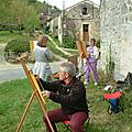 Stages et séjours de Peinture en Vallée du Lot