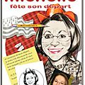 Carte d'invitation personnalise - dessins caricatures