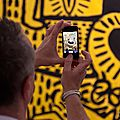 Reportage Photo - Paris... entre expositions et dcouvertes Keith Haring, Ron Mueck, Dynamo et un brin de bouddhisme !