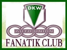 DKW AUTO UNION FANATIK CLUB Logo Cadre