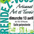 Exposition des créations uniques Lin Dentelle à Villemer (77) - 13 avril 2014