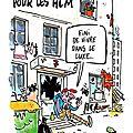 Baisse des financements pour les <b>HLM</b> - Charlie Hebdo N°1317 - 18 octobre 2017
