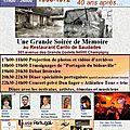 23 Juin Soirée Mémoire <b>Bidonville</b> Champigny
