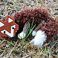 DIY : Le renard (Perles Hama et tricot)
