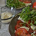 Salade <b>Tomates</b> - Mozza - Gnocchi