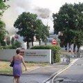 Incendie au 236