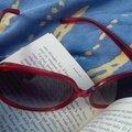 Lire au soleil... avec un petit livre léger comme Novecento pianiste, de Baricco.