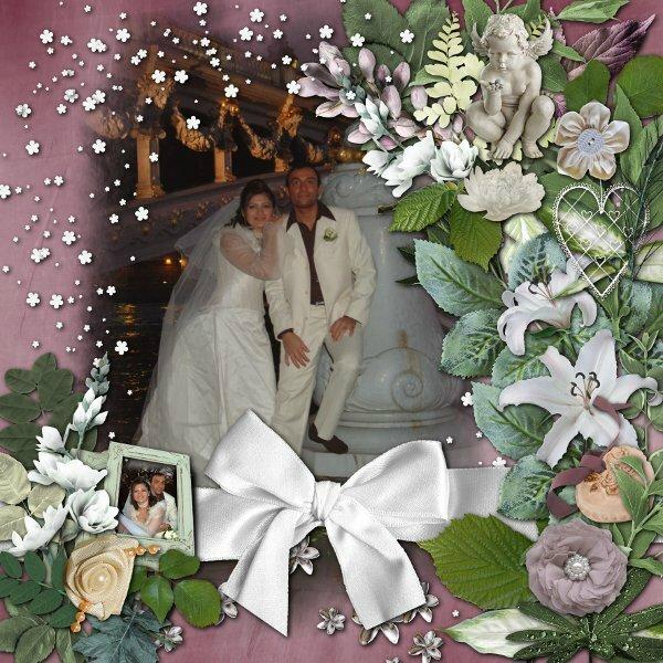 kit romantic shabby de Desclics, rak photo Desclics