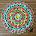 Diagramme <b>Granny</b> Mandala African flower