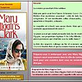 Mary Higgins Clark : noir comme la mer