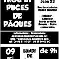 <b>TROC</b> ET <b>PUCES</b> DE PÂQUES 2012
