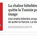 Que Faire Face à Toutes ces Compagnies, Chaines Hôtelières et Tours Opérateurs qui Foutent le Camp de la Tunisie?