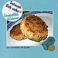 Croquette de <b>saumon</b> - Salmon fish cake