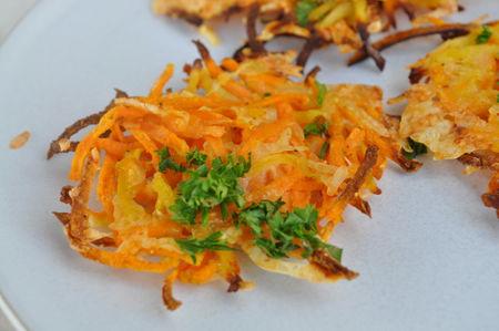 Paillassons de patates douces blog cuisine avec du chocolat ou thermomix mais pas que - Quand recolter les patates douces ...