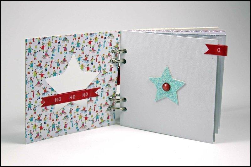 Journal de décembre Noel au pays des jouets - DT Tacha 7p