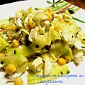 Carpaccio de <b>Courgettes</b> au Cantal