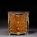 Commode d'époque Louis XV, attribuée à <b>Adrien</b> Delorme