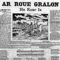Honneur à Olivier Souêtre, poète breton, communard, chansonnier libertaire révolutionnaire