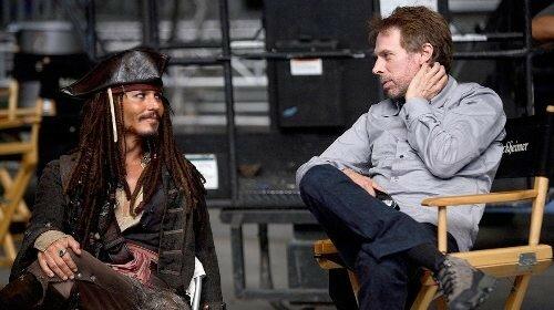 Johnny Depp & Jerry Bruckheimer