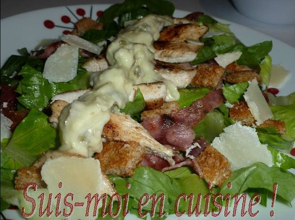 Salade Csar 10
