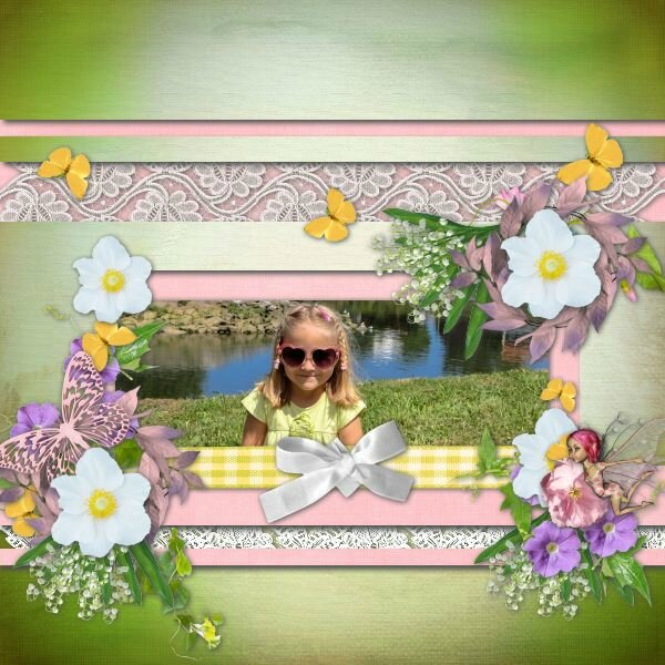 Scrap'Talou - template 1 pack 8 - kit sweet lily of the valley
