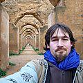 Trip sac à dos de Fès au Maroc à Xères en Andalousie en début janvier 2008