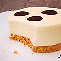 Entremets <b>fromage</b> <b>blanc</b> citron et palet croquant