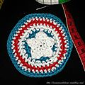 The Serial Crocheteuses n°164 <b>Captain</b> <b>America</b> pour mon Grand Bébé !