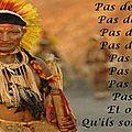 Traditions <b>Amérindiennes</b>