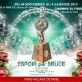 EXPOSITION d'ESPOIR de <b>BRUCE</b> (<b>Bruce</b> de <b>Jaham</b>) sur les CHAMPS ELYSEES à Paris