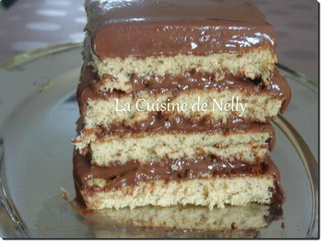 Gâteau Chocolat et thé matcha1