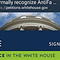 Plus de 130 000 Américains appellent la Maison Blanche à classer les antifas comme terroristes