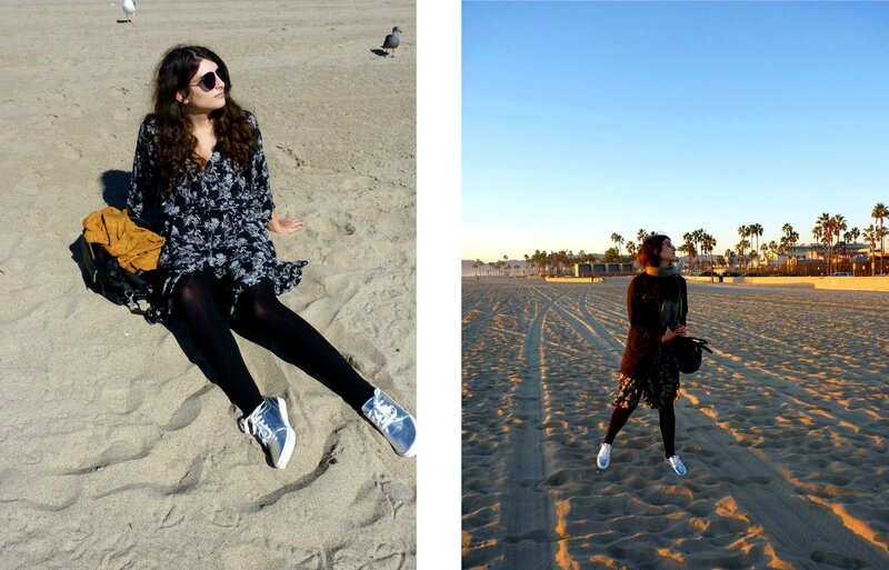 What I wore in Los Angeles