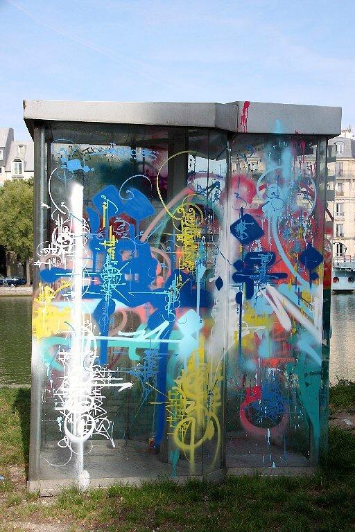 4-Marko93, cabine téléphonique, canal de l'Ourcq_4823