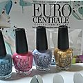 Vernis - mini OPI Euro centrale Collection