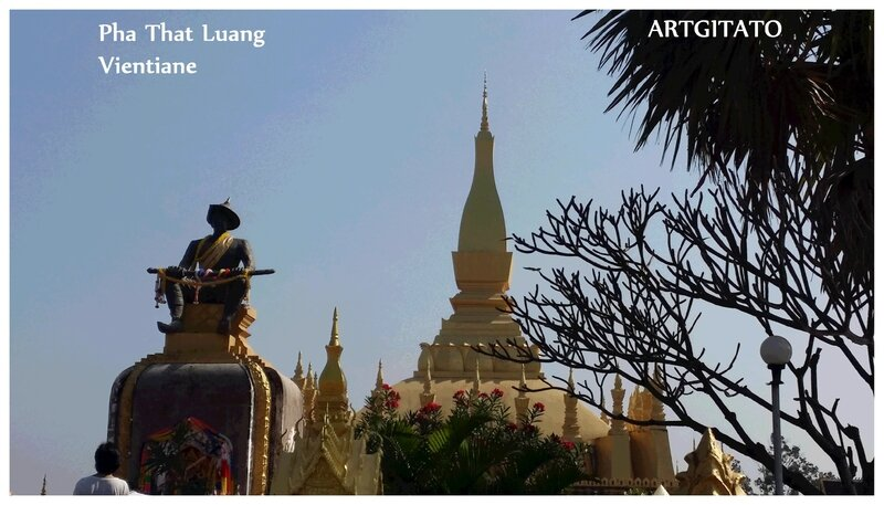 Pha That Luang Vientiane Artgitato 3